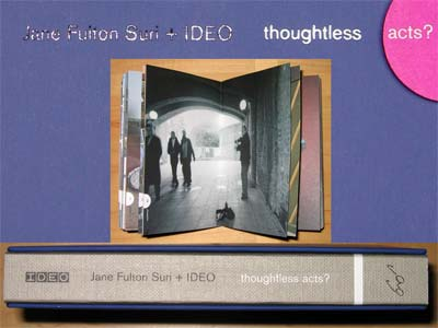 Images of the book, Thoughtless Acts?